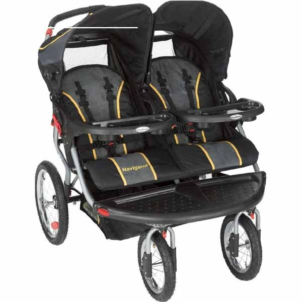 Review Baby Trend Navigator Double Jogging Stroller