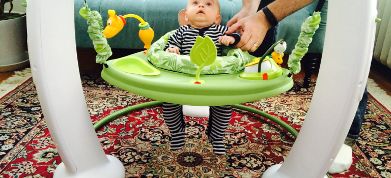 Review: Evenflo Exersaucer Jumper
