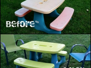How to Refresh a Plastic Picnic Table
