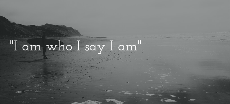 "Mama Mantra of the Moment: ""I am who I say I am."""